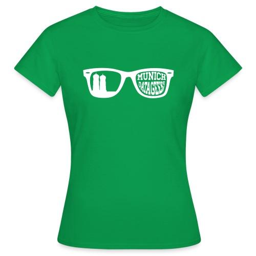 Munich Datageeks White - Frauen T-Shirt