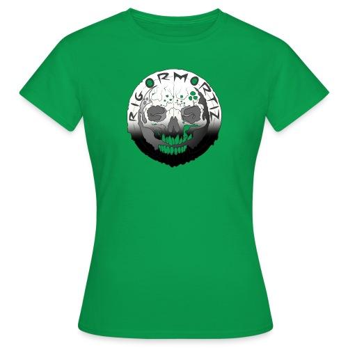 Rigormortiz Black White Design - Women's T-Shirt