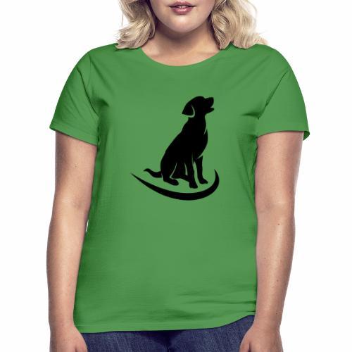 siluetta perro - Camiseta mujer