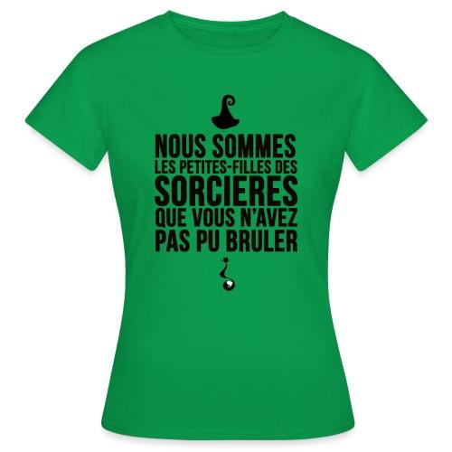 filles de sorcières - T-shirt Femme