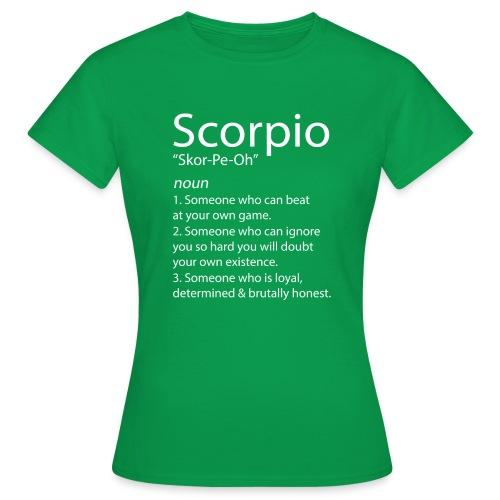 SCORPIO FACTS & SCORPIO TRAITS - Women's T-Shirt