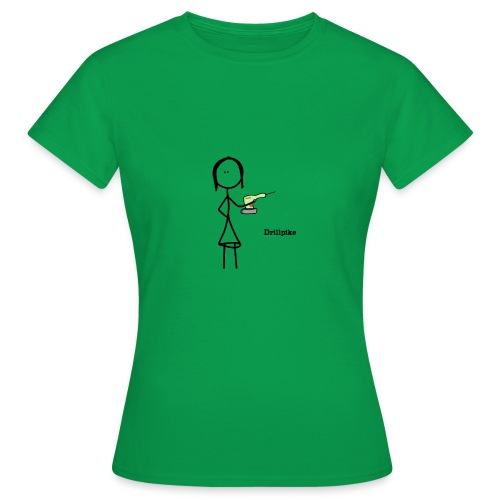 Drillpike - T-skjorte for kvinner