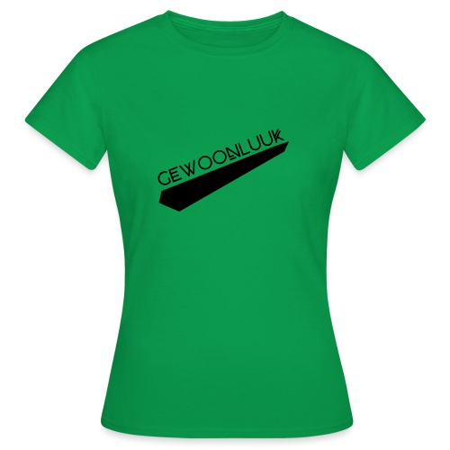 GewoonLuuk SportKleding - Vrouwen T-shirt