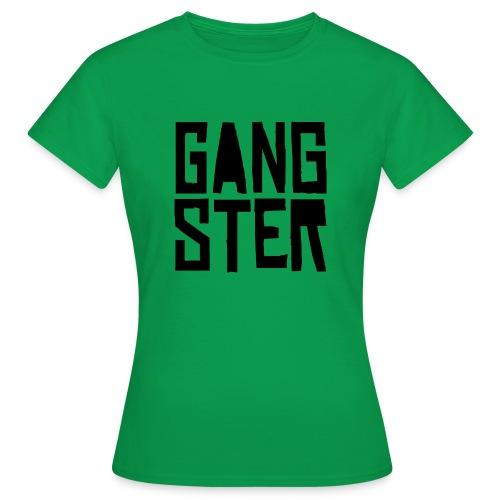 GANGSTER - Camiseta mujer