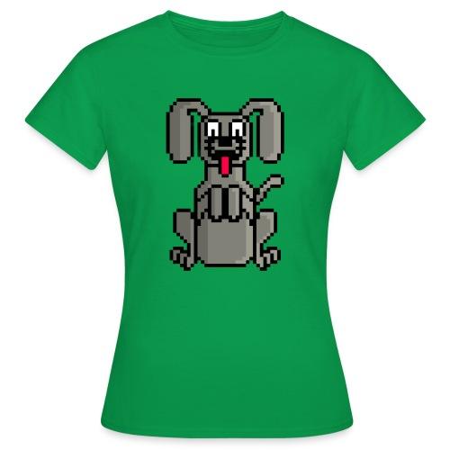 PerroPixelArt - Camiseta mujer