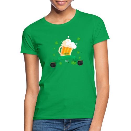 Happy St Patrick's tee shirt - T-shirt Femme