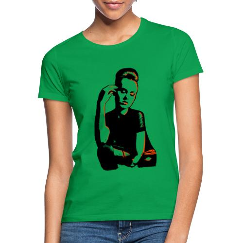 ATTITUDE (orange) - Dame-T-shirt