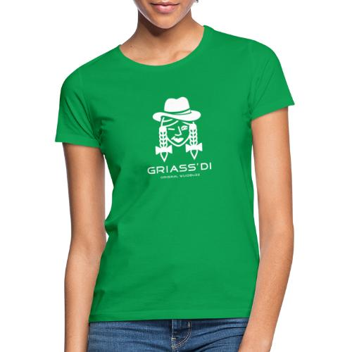 WUIDBUZZ   Griass di   Frauensache - Frauen T-Shirt