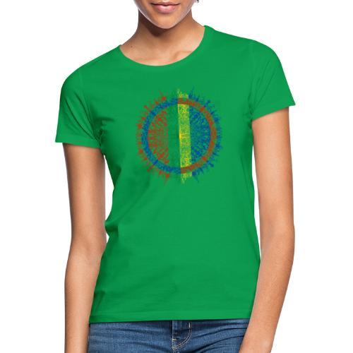 Samisk flagg - T-skjorte for kvinner