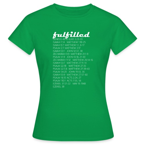 Fulfilled T SHIRT 008 - Frauen T-Shirt