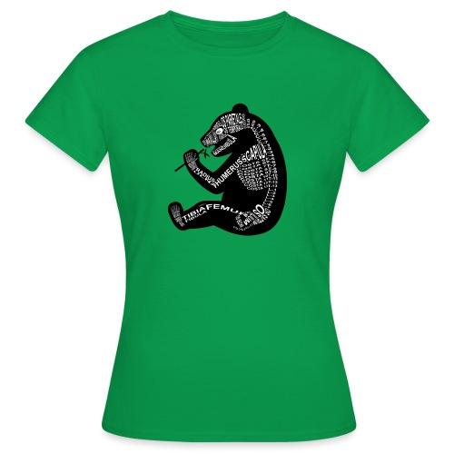 Panda skelet - Vrouwen T-shirt