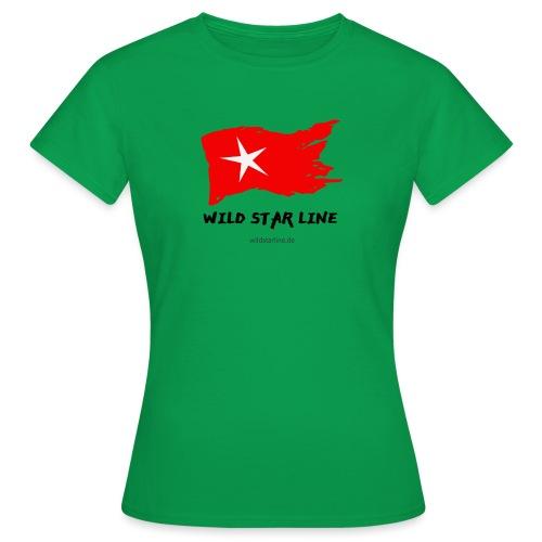 Wild Star Line - Frauen T-Shirt
