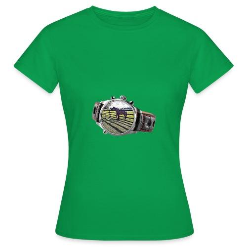 Horse in a watch - Women's T-Shirt