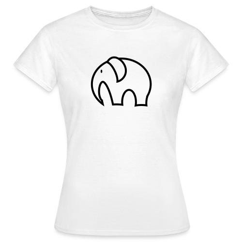 olifant pictogram - Vrouwen T-shirt
