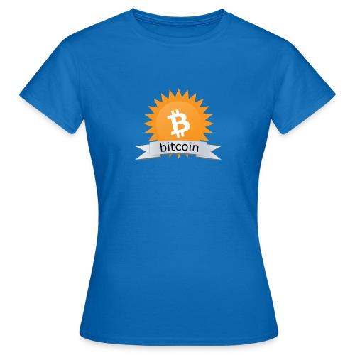 Bitcoin logo - Vrouwen T-shirt