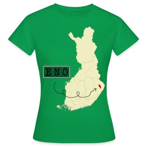 Maantieteellinen infopaketti - Naisten t-paita