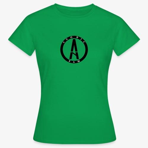 Anodic LOgo png - Camiseta mujer