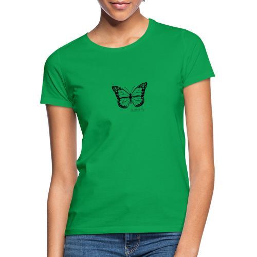 Butterfly white - T-shirt dam