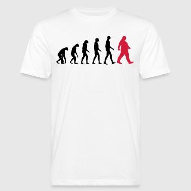 Pogrubienie ewolucji - kim są otyłe Dick - otyłość - śmieszne - Ekologiczna koszulka męska