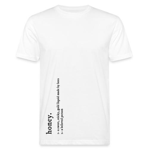 Honey - definition - T-shirt bio Homme
