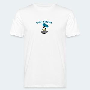 linux summer - T-shirt ecologica da uomo