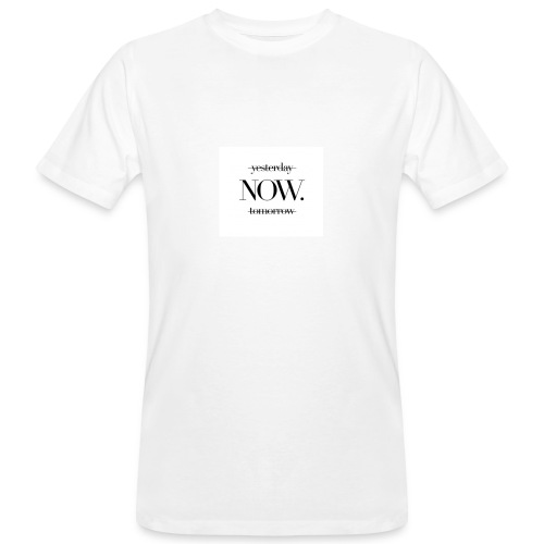 NOW. - Männer Bio-T-Shirt