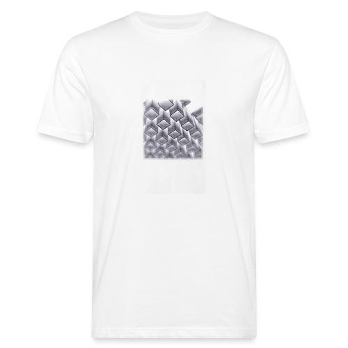 squares - Men's Organic T-Shirt