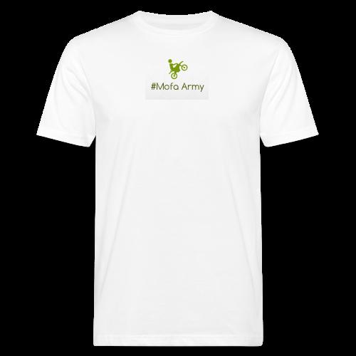 Mofa Army (Grün) - Männer Bio-T-Shirt