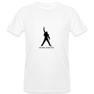 WE WILL GLOCK YOU - Männer Bio-T-Shirt