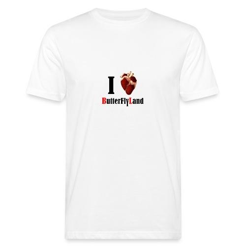 I love Butterflyland - T-shirt bio Homme