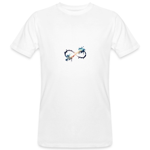 infinity forever young - T-shirt ecologica da uomo