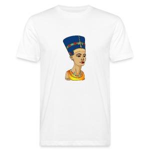Nofretete - Die Schöne, die da kommt - Männer Bio-T-Shirt
