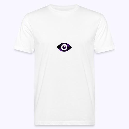 Occhio del destino viola - T-shirt ecologica da uomo