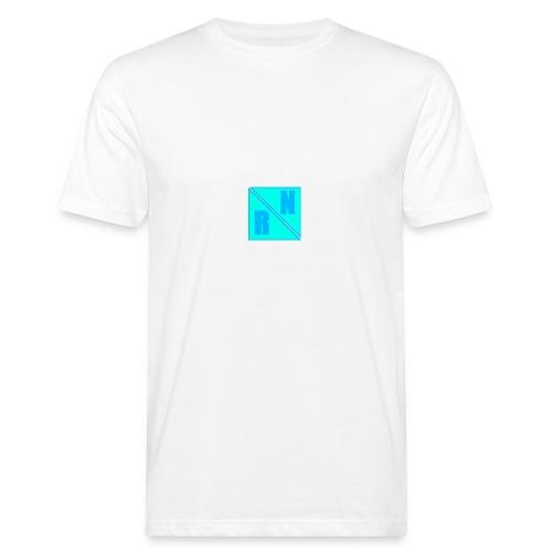Random Network White T-Shirt (Design 2) - Mannen Bio-T-shirt