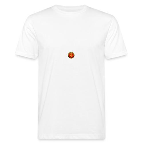 DDR retro - Männer Bio-T-Shirt