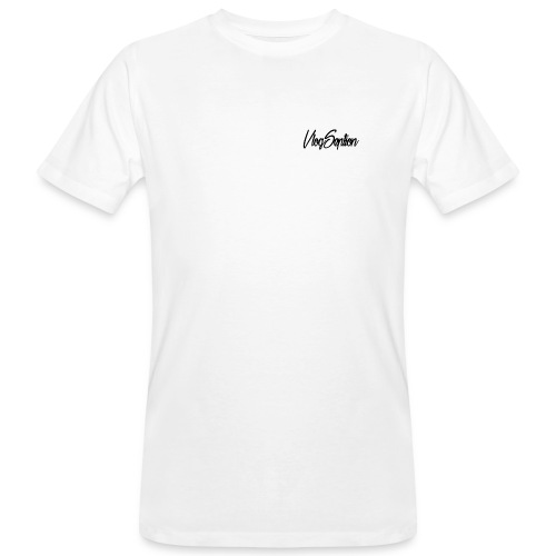 VlogSeption Brand Logo - Men's Organic T-shirt