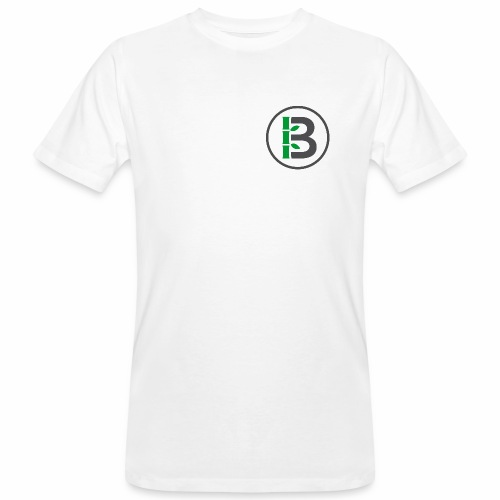 Biomboo Logo Circle Charcoal - Men's Organic T-Shirt