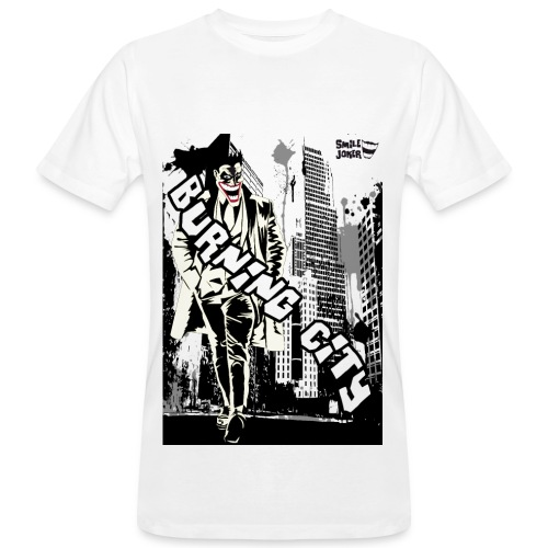 Burnig City - Camiseta ecológica hombre