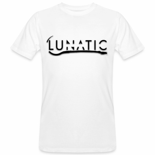 Lunatic Official logo White - T-shirt bio Homme