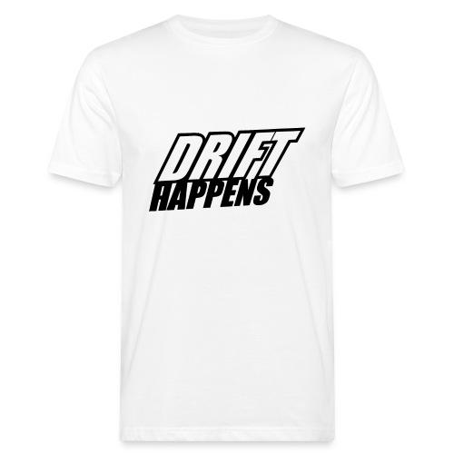 Drift Happens - Männer Bio-T-Shirt