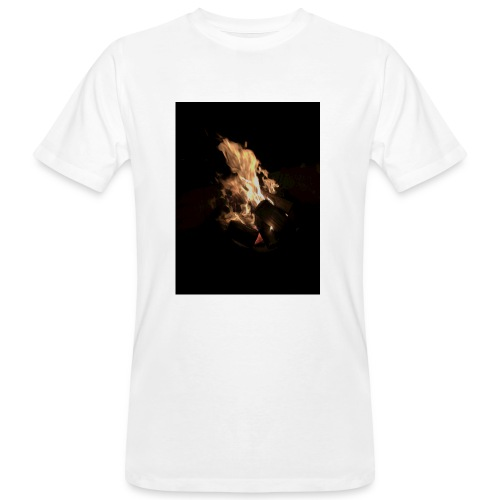 Bonfire Print - Men's Organic T-shirt