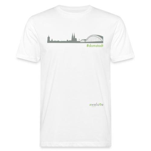 welove KÖLN #domstadt - Männer Bio-T-Shirt