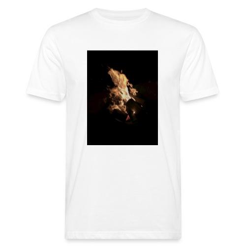 Bonfire Print - Men's Organic T-Shirt
