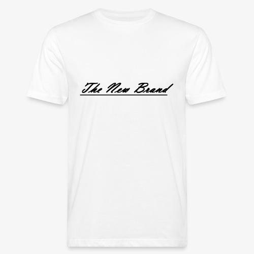 The New Brand logo black on white - Mannen Bio-T-shirt