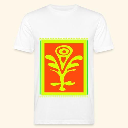 Neon Design - Männer Bio-T-Shirt