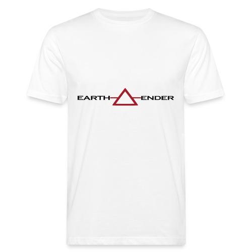 Earthender Pyramid - Männer Bio-T-Shirt