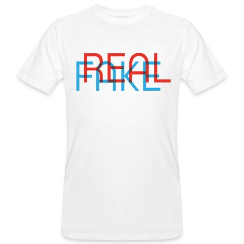 REAL or FAKE? MEN'S EDITION - Männer Bio-T-Shirt