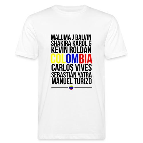 Reggaeton Shirt Kolumbien - Männer Bio-T-Shirt
