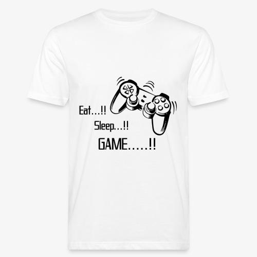 eat sleep game joy pad - Men's Organic T-shirt