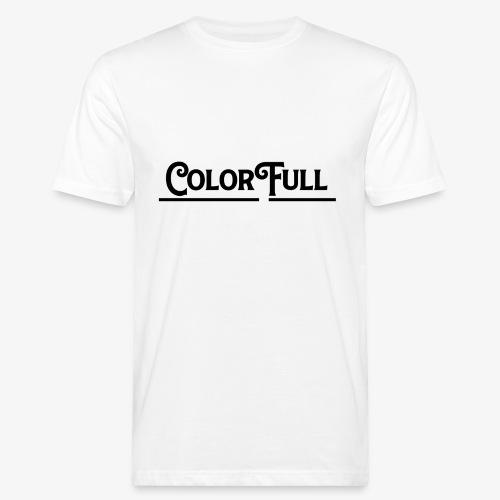 Colorfull Brand Logo - Mannen Bio-T-shirt
